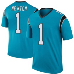 Legend Youth Cam Newton Carolina Panthers Nike Color Rush Jersey - Blue